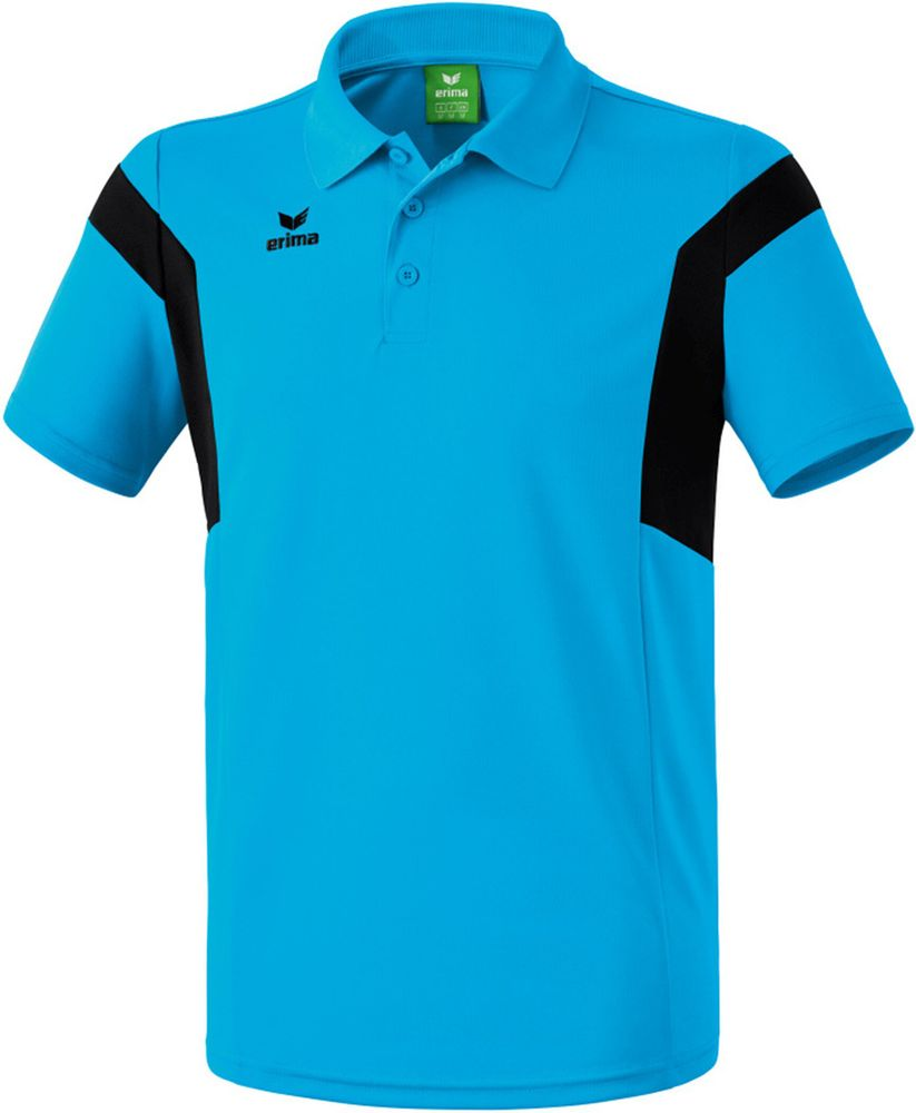 Erima Classic Team Polo Shirt - curacao/black - Polos-Kinder