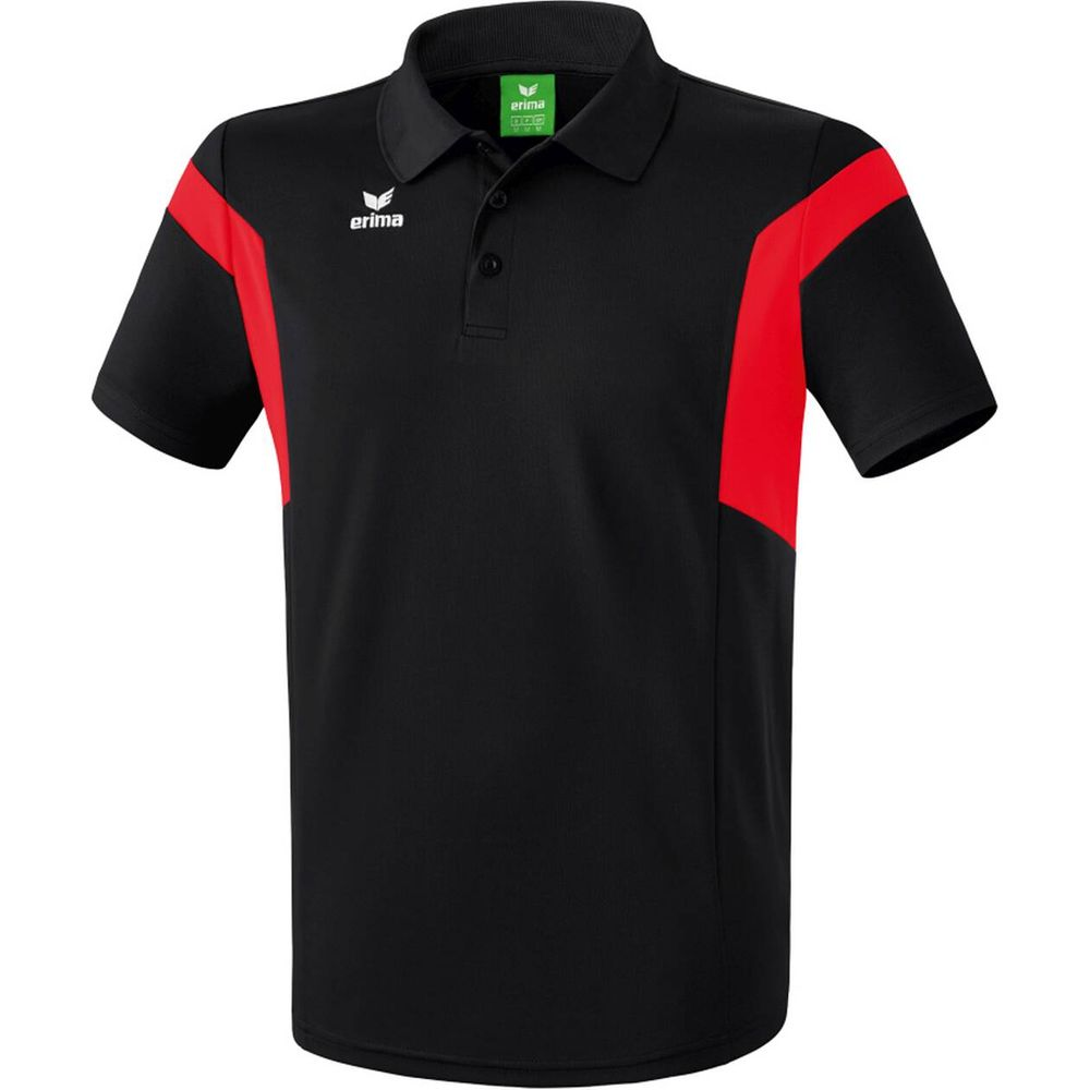 Erima Classic Team Polo Shirt - black/red - Polos-Kinder