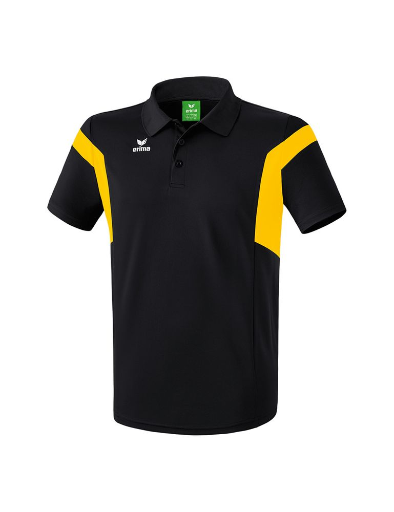 Erima Classic Team Polo Shirt - black/yellow - Polos-Kinder