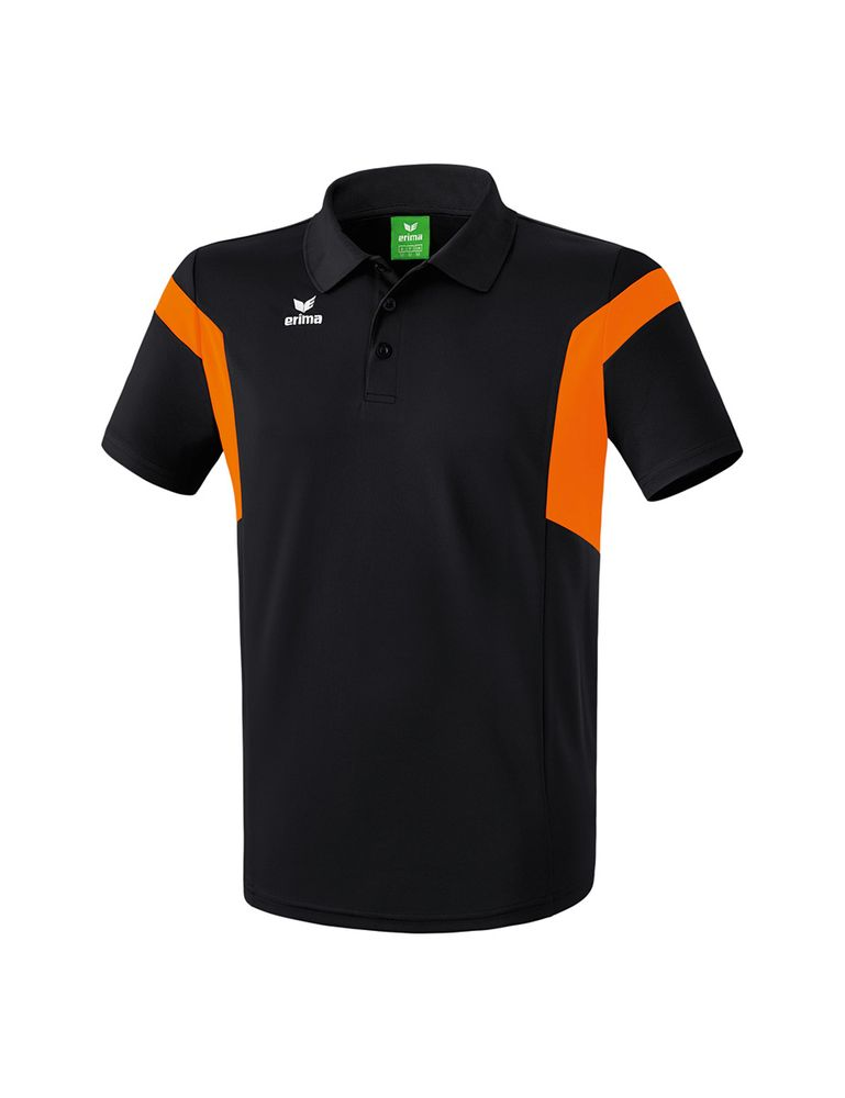 Erima Classic Team Polo Shirt - black/orange - Polos-Kinder