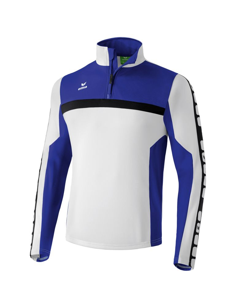 Erima Classic 5-Cubes Series Training Top - white/indigo/black - Unterjacken-Herren
