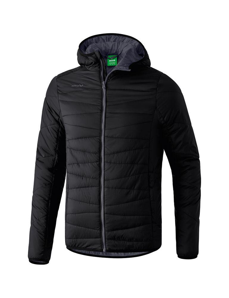 Erima Winter Jacket - black/dark grey - Jacken-Anoraks-Kinder