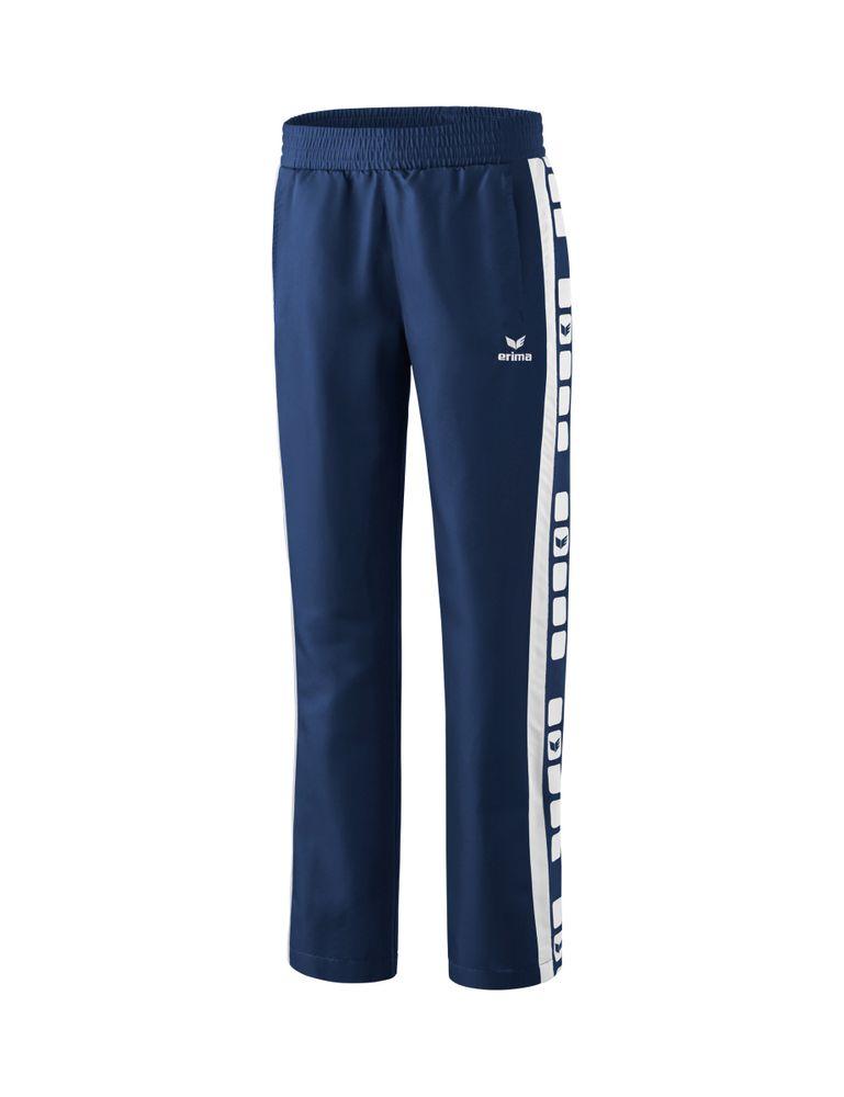 Erima Classic 5-Cubes Series Pres. Pants - new navy/white - Sporthosen lang-Damen
