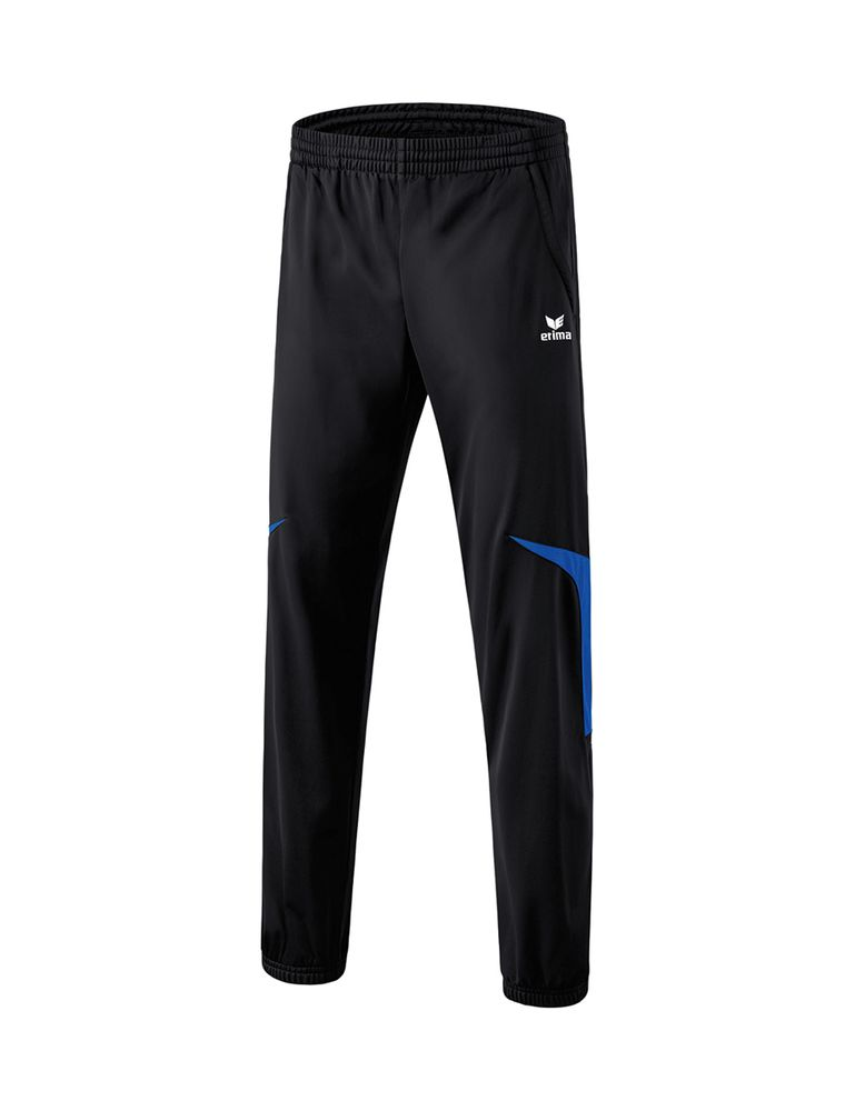 Erima Razor 2.0 Shiny Pants - black/new royal - Sporthosen lang-Kinder