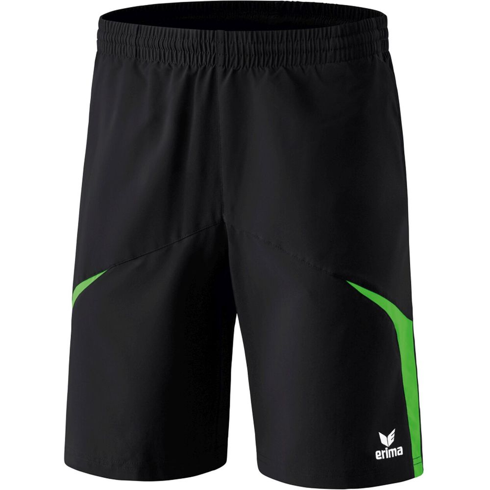 Erima Razor 2.0 Shorts With Inner Slip - black/green - Shorts-Herren