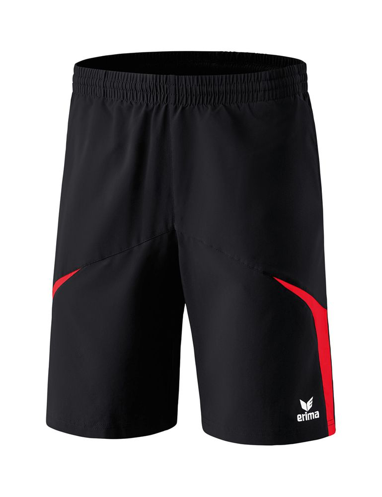 Erima Razor 2.0 Shorts With Inner Slip - black/red - Shorts-Kinder