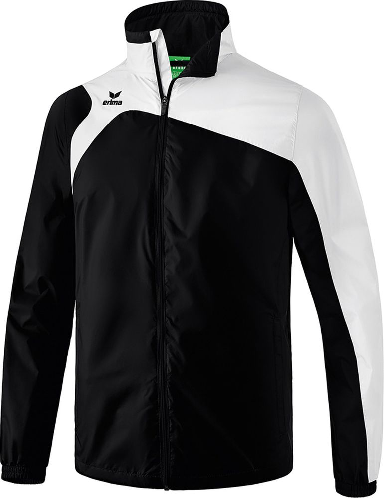 Erima Club 1900 2.0 All-Weather Jacket - black/white - Regenjacken-Herren