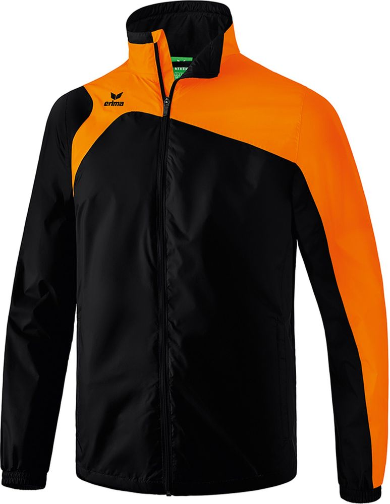Erima Club 1900 2.0 All-Weather Jacket - black/orange - Regenjacken-Herren