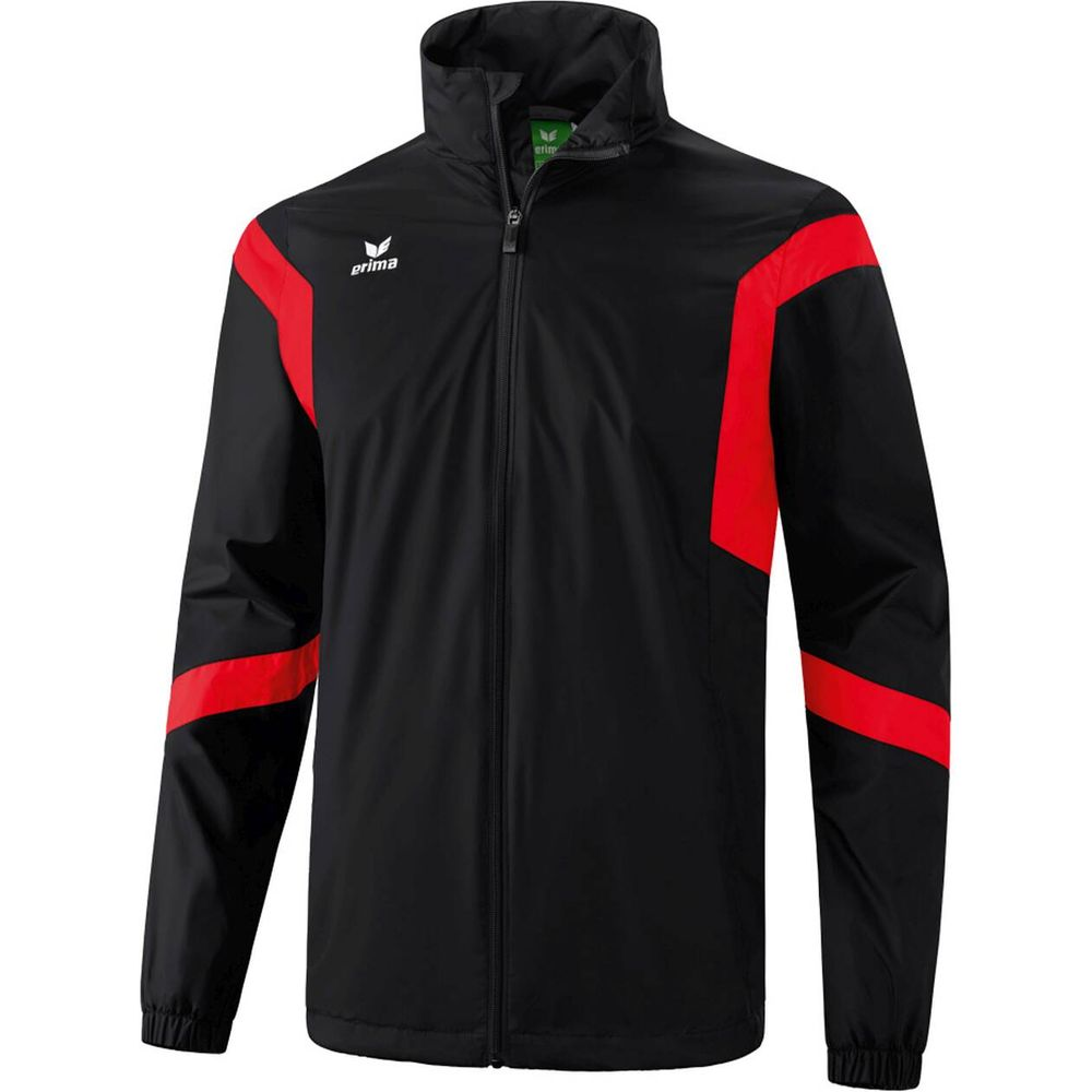 Erima Classic Team All-Weather Jacket - black/red - Regenjacken-Herren
