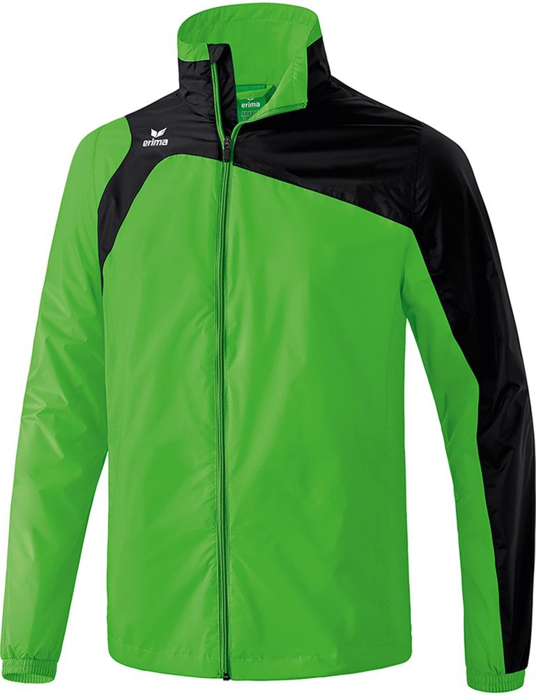 Erima Club 1900 2.0 All-Weather Jacket - green/black - Regenjacken-Kinder