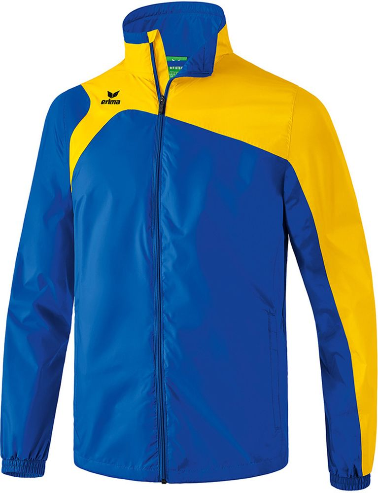 Erima Club 1900 2.0 All-Weather Jacket - new royal/yellow - Regenjacken-Kinder