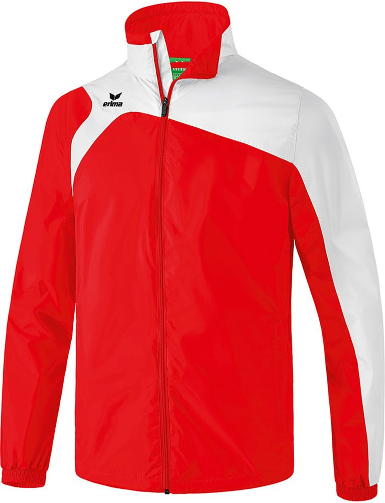 Erima Club 1900 2.0 All-Weather Jacket - red/white - Regenjacken-Kinder