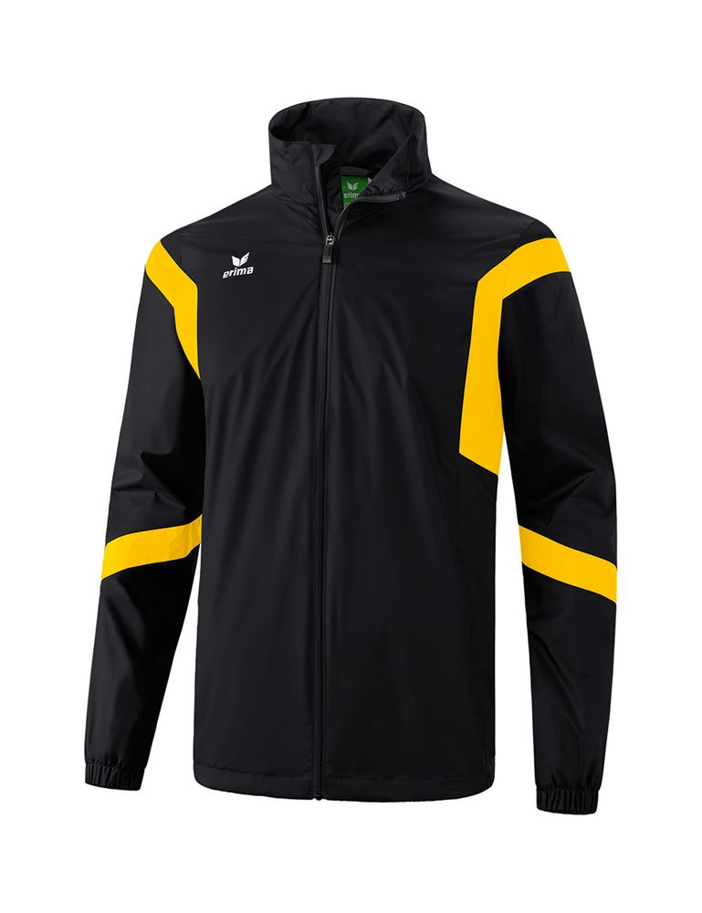 Erima Classic Team All-Weather Jacket - black/yellow - Regenjacken-Kinder