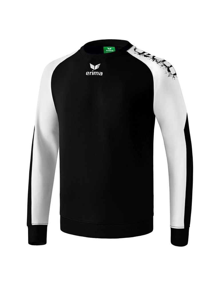 Erima Graffic 5-C Sweatshirt - black/white - Torwarttrikots-Kinder