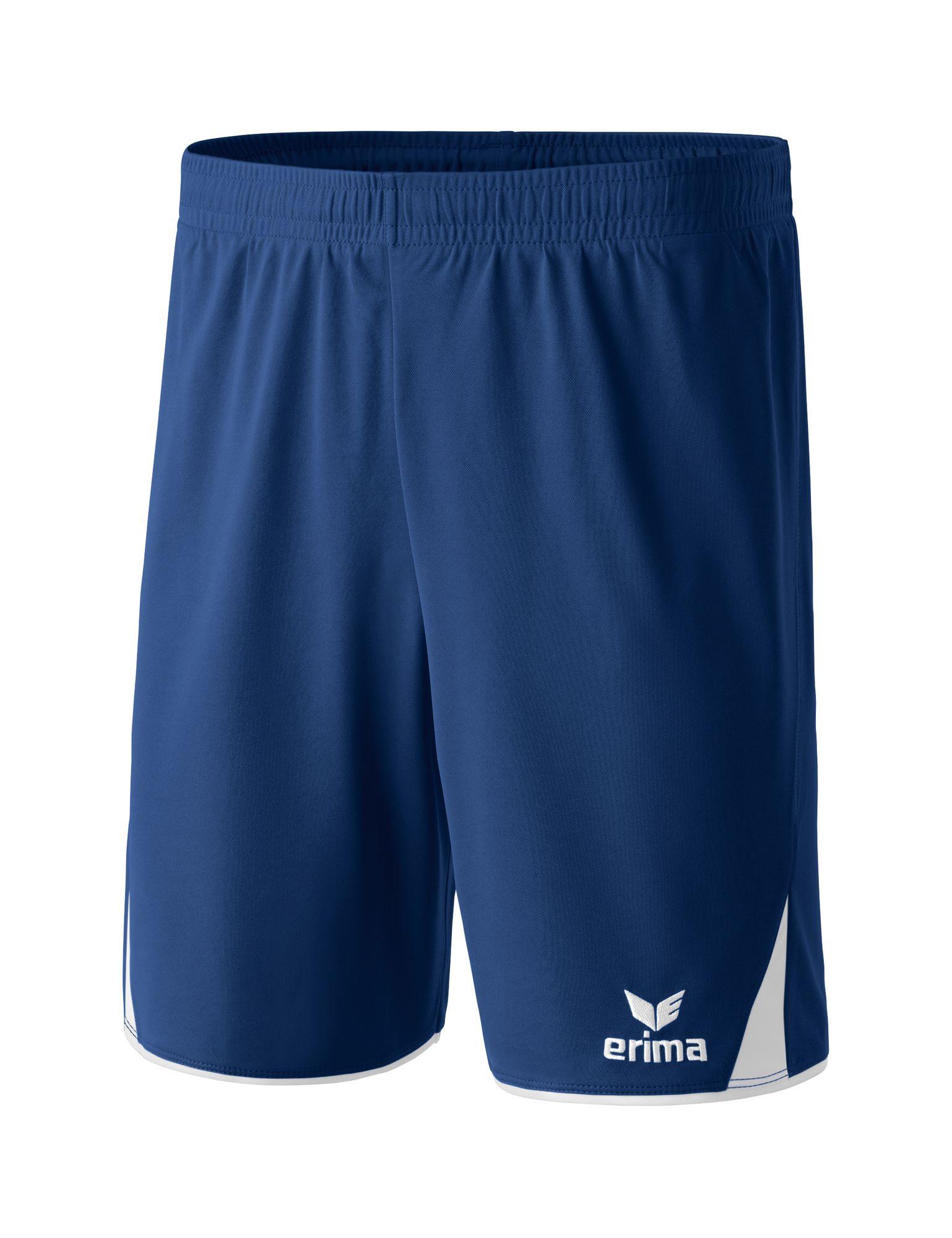 Erima Classic 5-Cubes Shorts With Inner S - new navy/white - Shorts-Herren