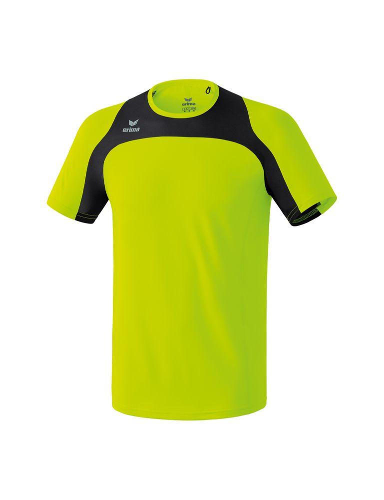 Erima Race Line Running T-Shirt - neon yellow/black - T-Shirts-Tanks-Kinder