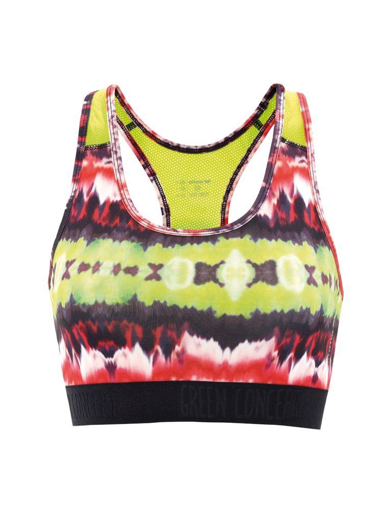 Erima Green Workout Bra - multicolor - Bustiers-Tops-Damen