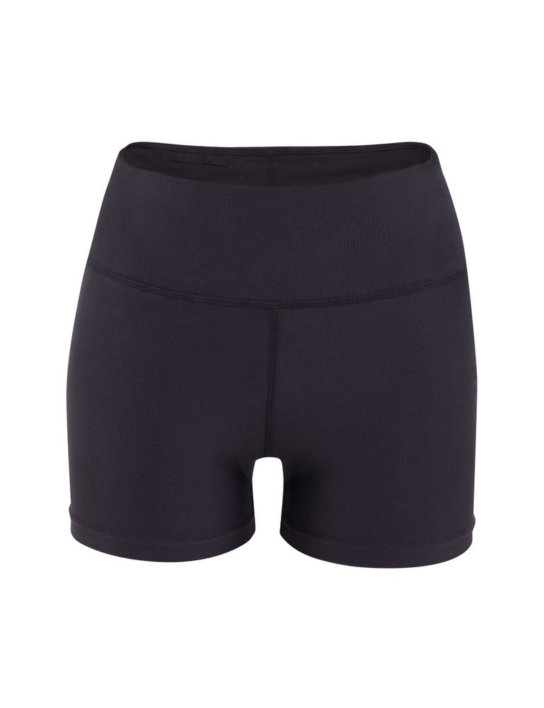 Erima Green Workout Hot Pants - black - Shorts-Damen
