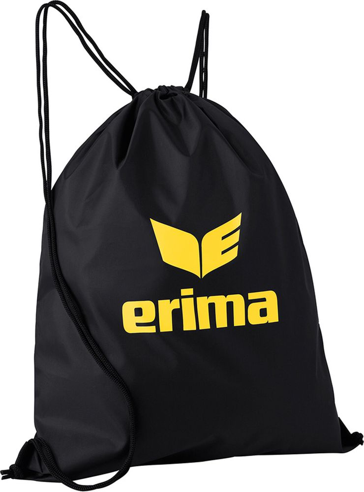 Erima Club 5 Gym Bag - black/yellow - Beutel-Kleintaschen-Unisex