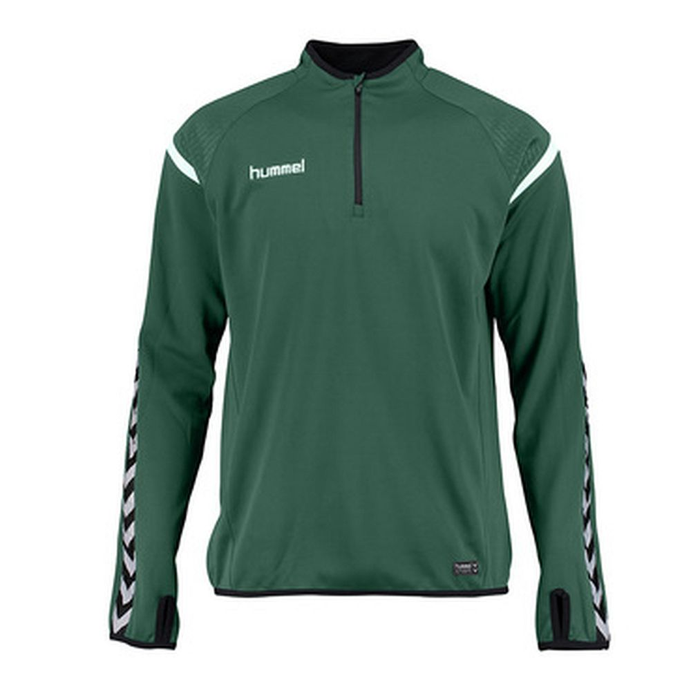 Hummel Auth. Charge Training Sweat - evergreen