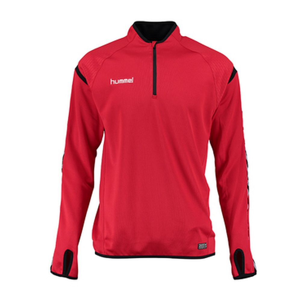 Hummel Auth. Charge Training Sweat - true red