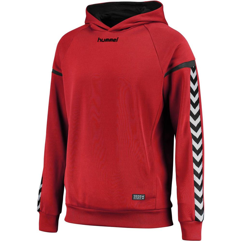 Hummel Auth. Charge Poly Hoodie - true red