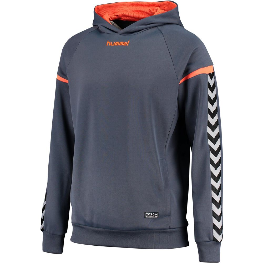 Hummel Auth. Charge Poly Hoodie - ombre blue/nasturtium