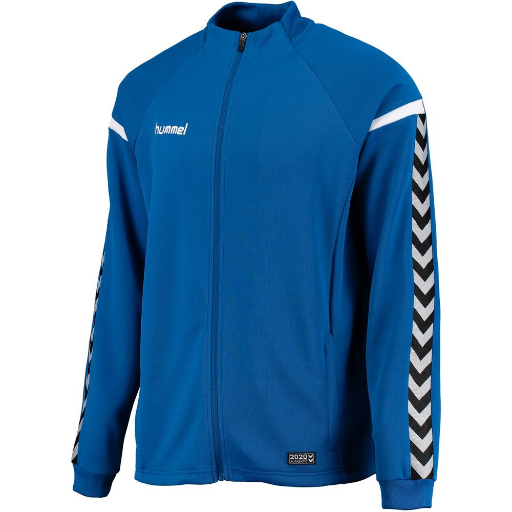 Hummel Auth. Charge Poly Zip Jacket - true blue