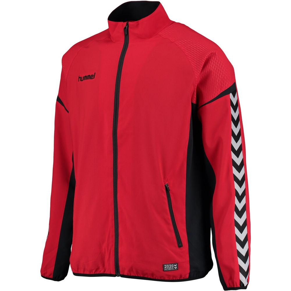 Hummel Auth. Charge Micro Zip Jacket - true red