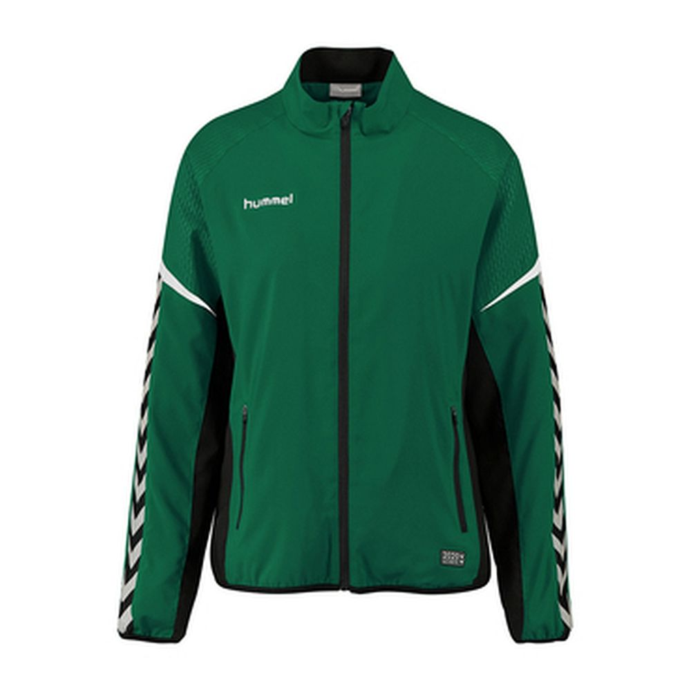 Hummel Auth. Charge Micro Zipjkt W - evergreen