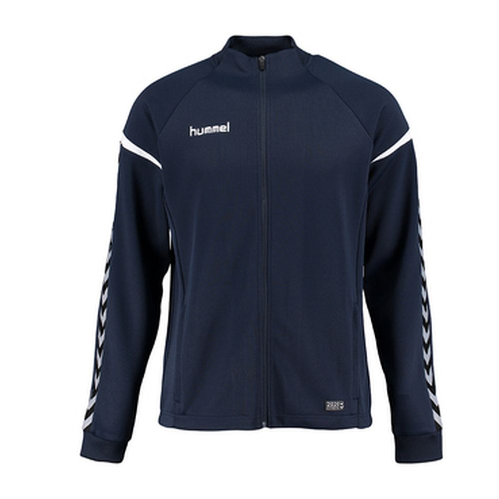 Hummel Auth. Charge Poly Zip Jacket - total eclipse