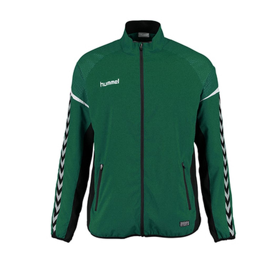 Hummel Auth. Charge Micro Zip Jacket - evergreen
