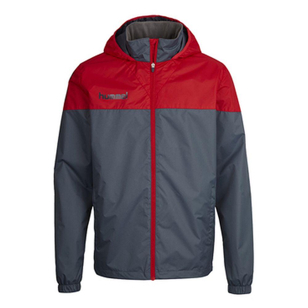 Hummel Sirius All Weather Jacket - dark slate/true red