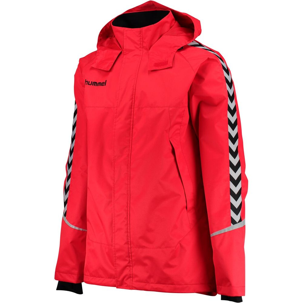 Hummel Auth. Charge All-Weather Jkt - true red/black