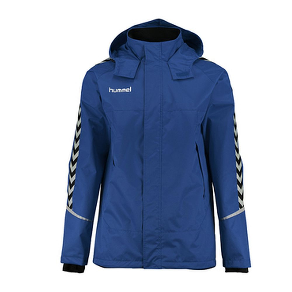 Hummel Auth. Charge All-Weather Jkt - true blue/black