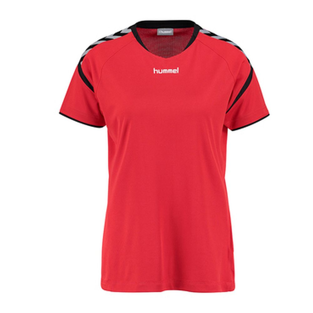 Hummel Auth. Charge Ss Poly Jersey Wo - true red