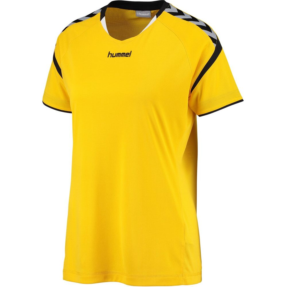 Hummel Auth. Charge Ss Poly Jersey Wo - sports yellow