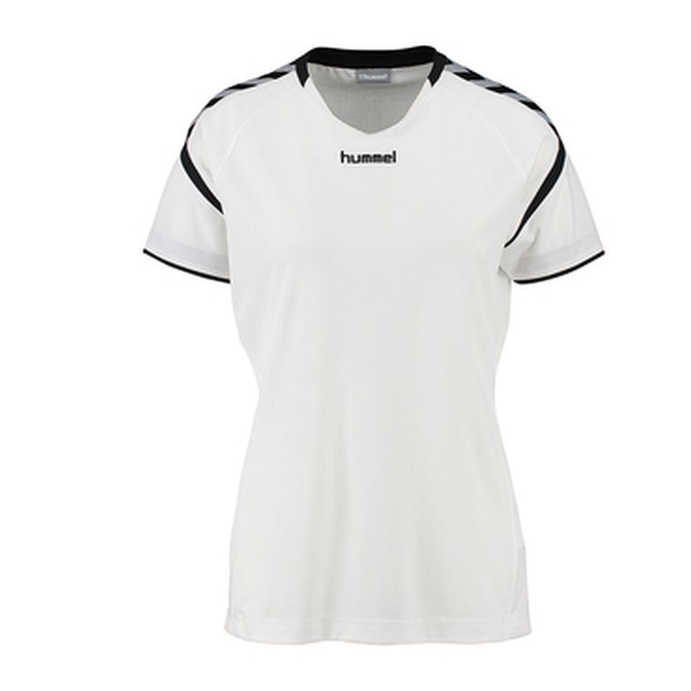 Hummel Auth. Charge Ss Poly Jersey Wo - white