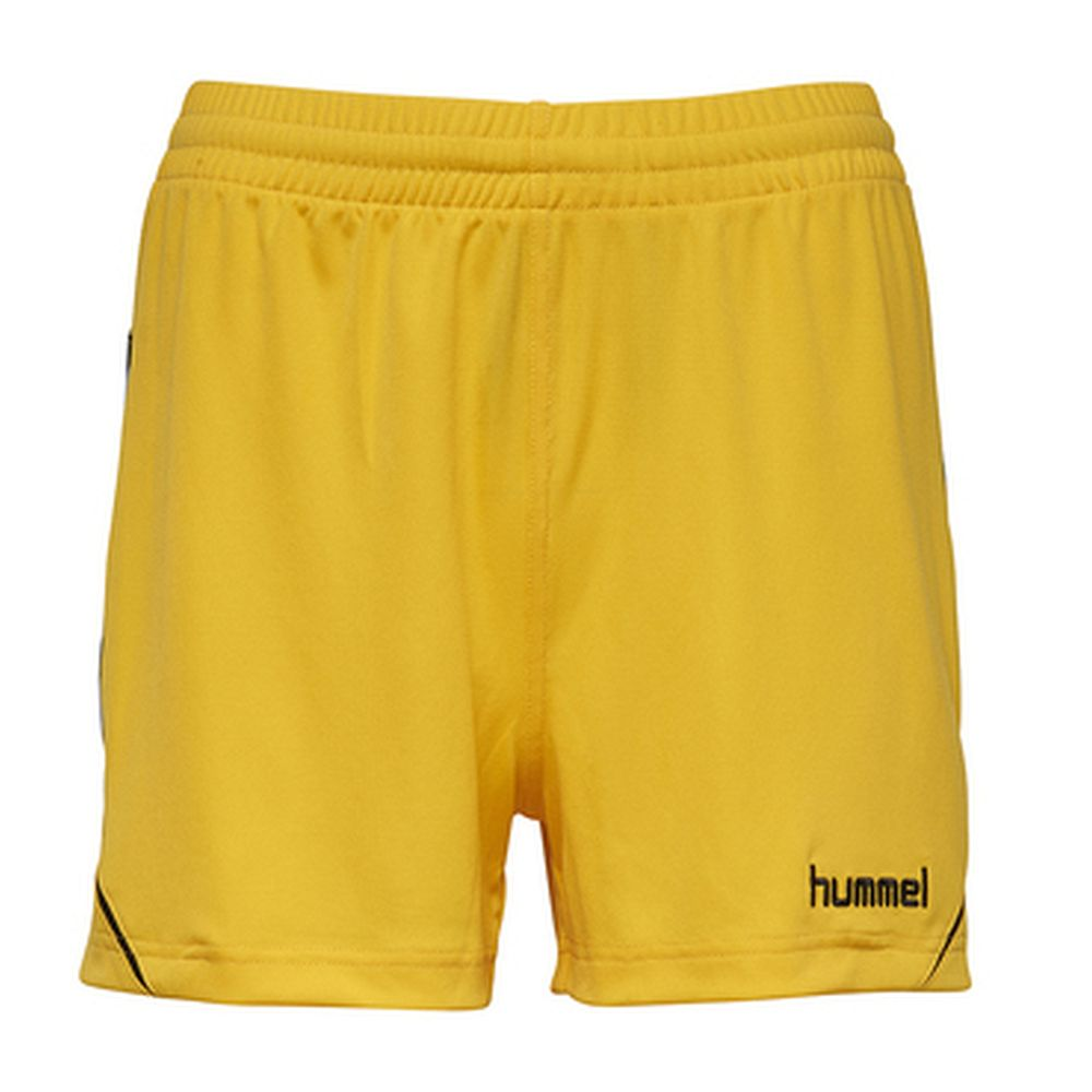 Hummel Auth. Charge Poly Shorts Wo - sports yellow