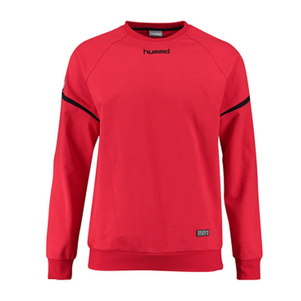 Hummel Auth. Charge Cotton Sweatshirt - true red