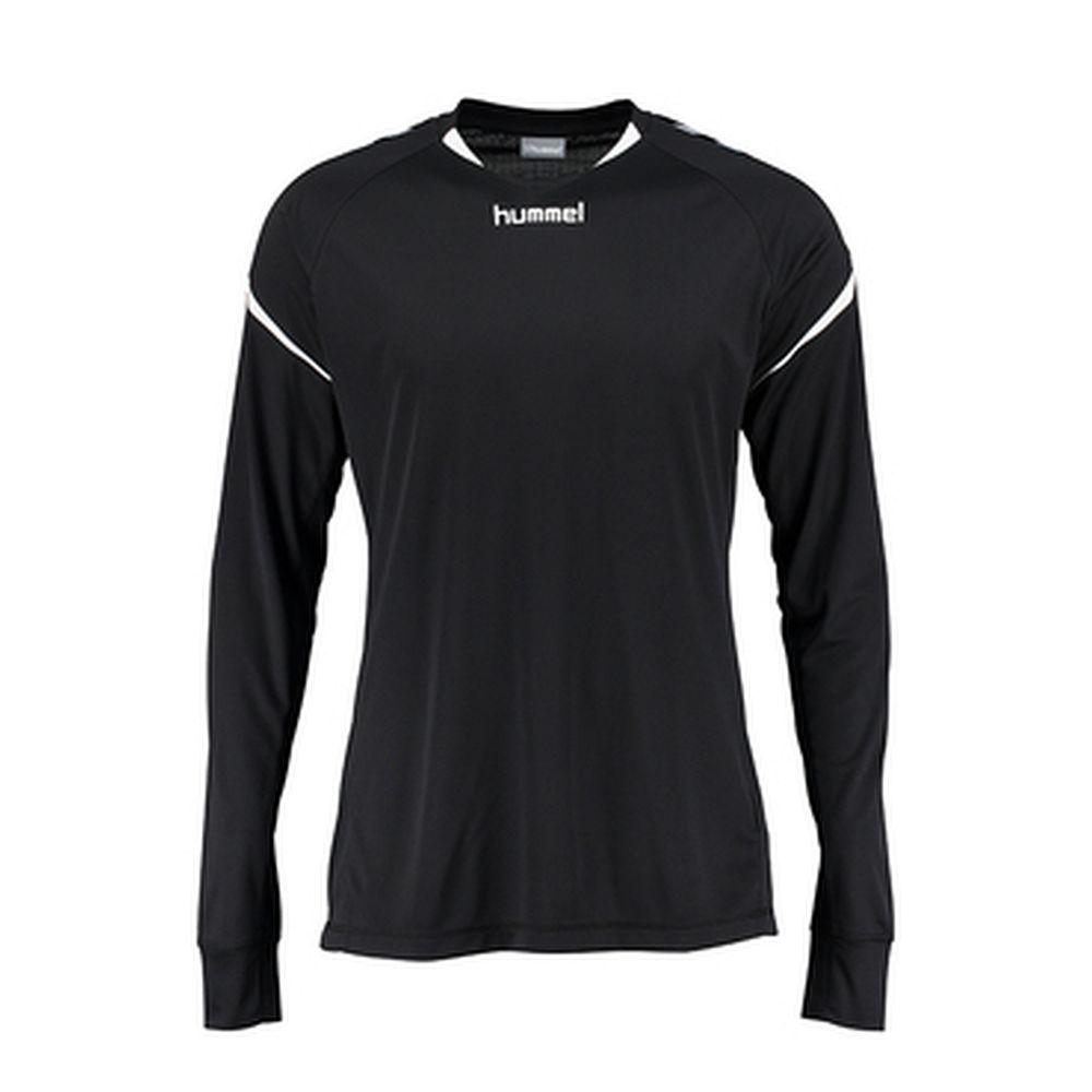 Hummel Auth. Charge Ls Poly Jersey - black