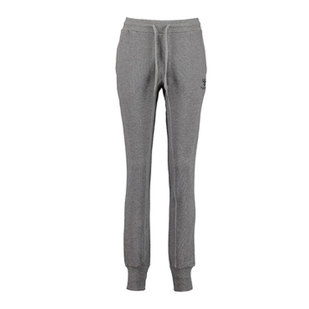 Hummel Classic Bee Wo Glen Pants - dark grey melange