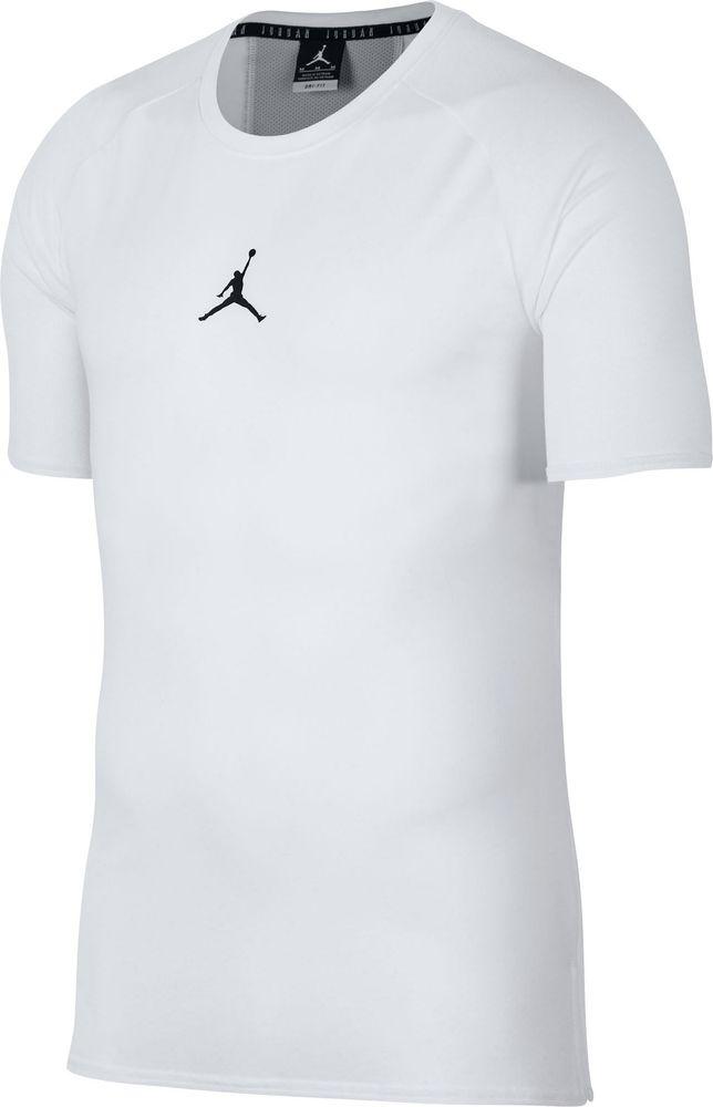 Nike 23 Alpha Dry Ss Top - white/black - T-Shirts-Tanks-Herren