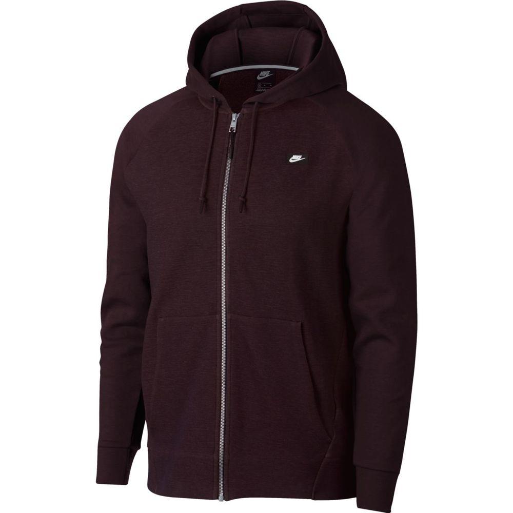 Nike M Nsw Optic Hoodie Fz - burgundy ash/htr/burgundy ash - Unterjacken-Herren
