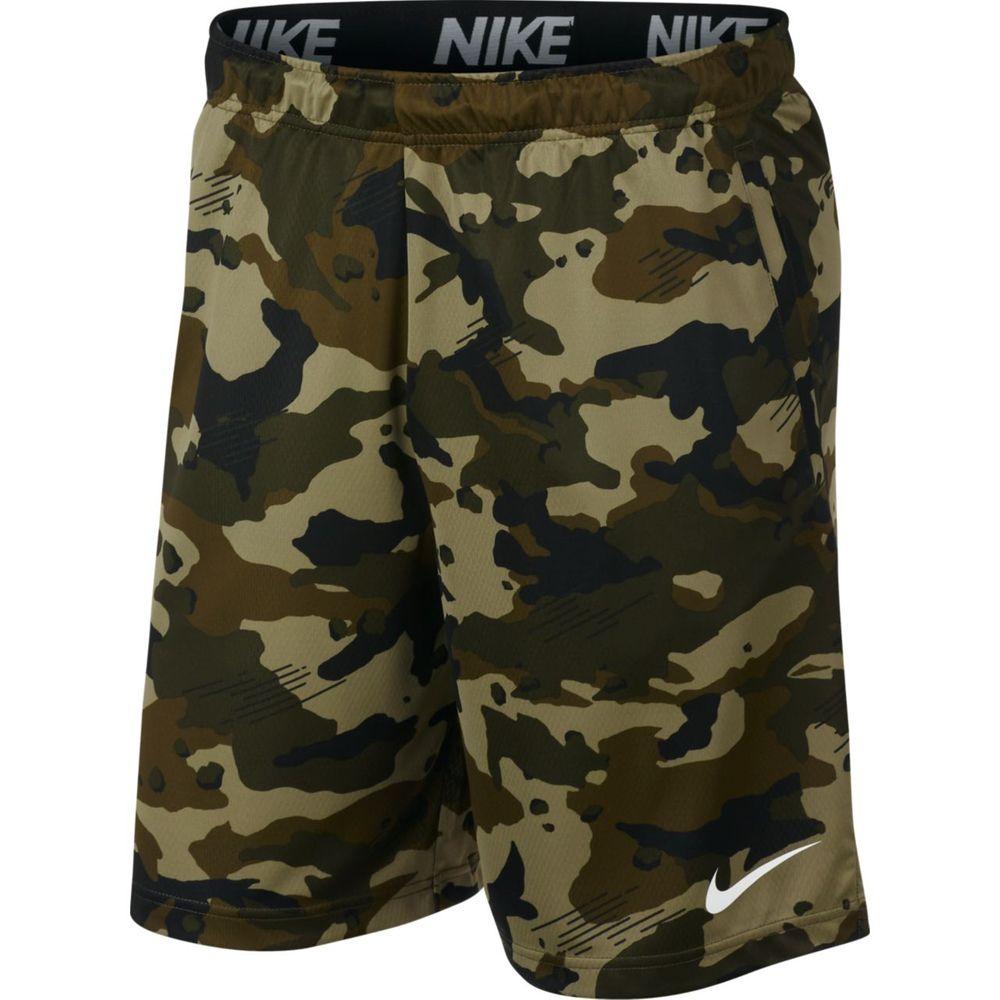 Nike M Nk Dry Short 2L Cmo - black/black/white - Shorts-Herren
