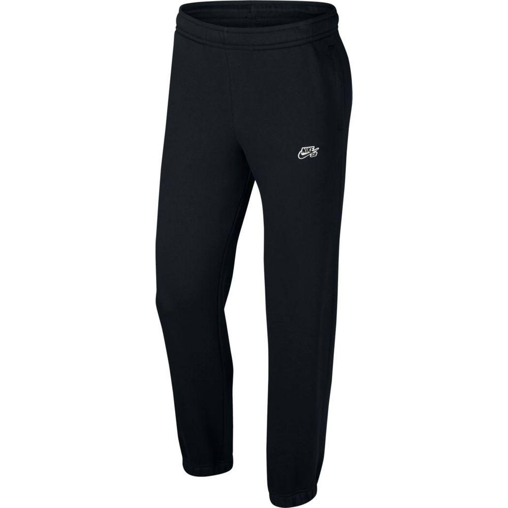 Nike M Nk Sb Pant Icon Flc Essntl - black/black - Hosen lang-Herren