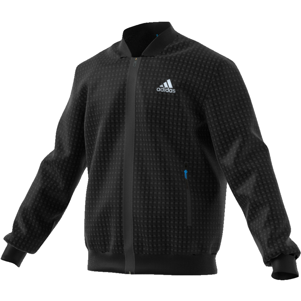adidas ESCOUADE JACKET - BLACK