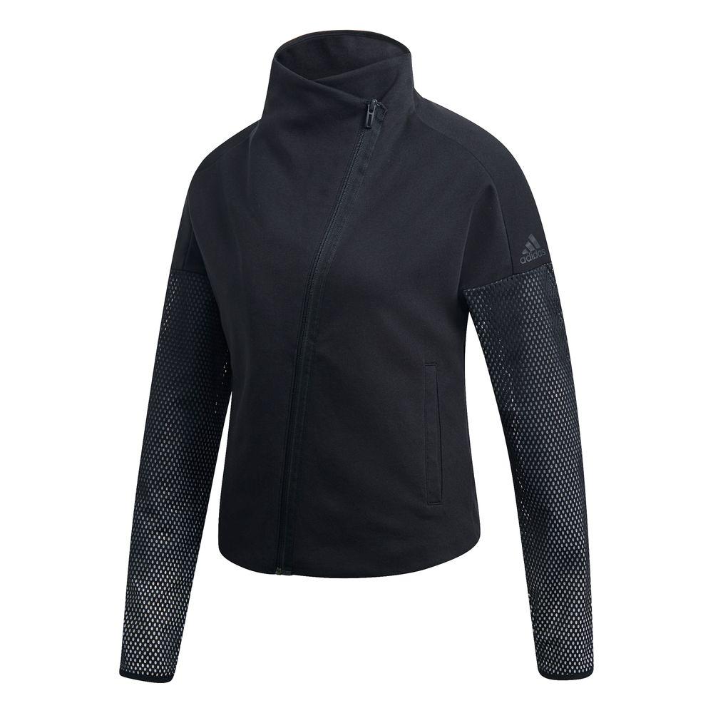 adidas W HTR S Jkt AI - BLACK/WHITE