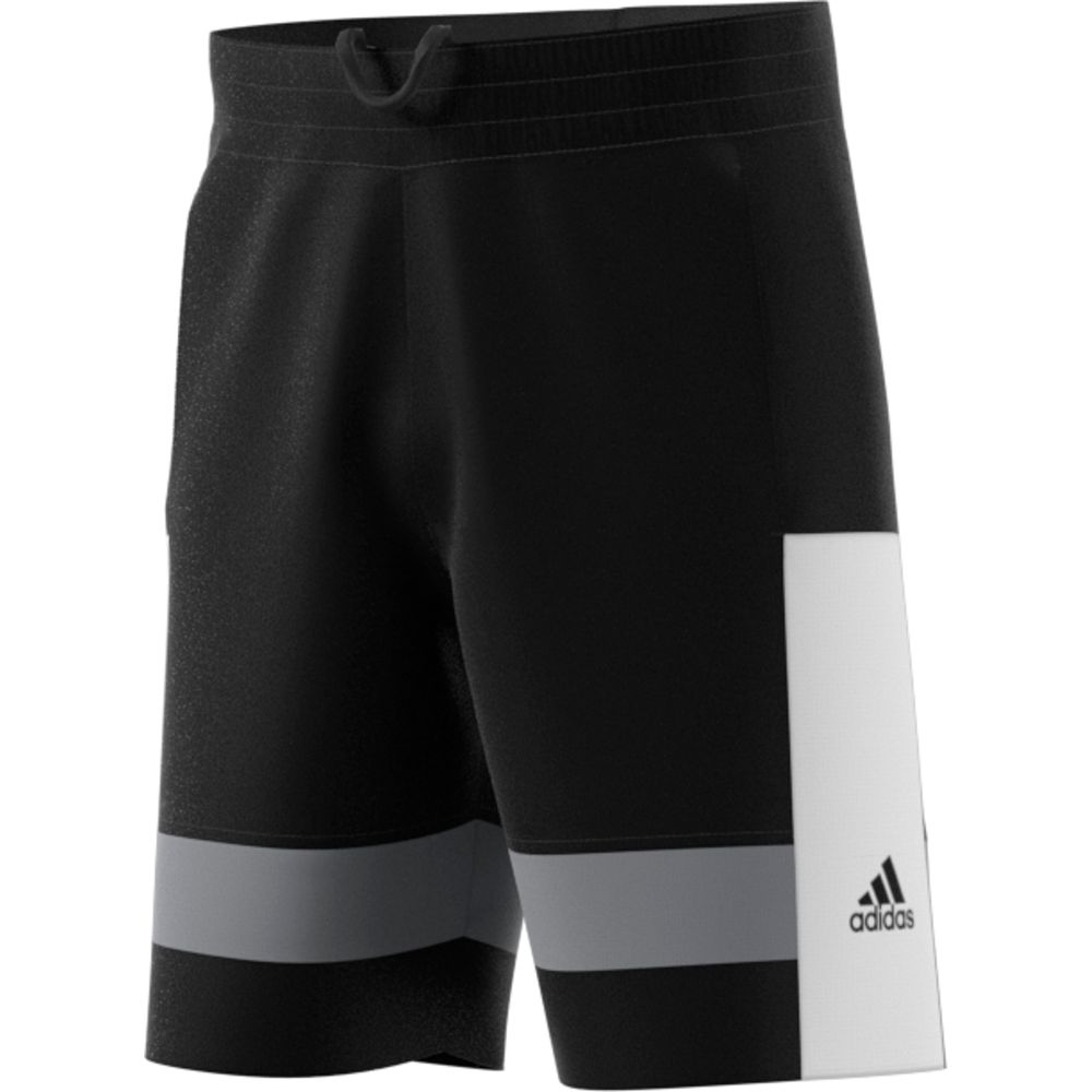 adidas HARDEN SHORT - BLACK/WHITE