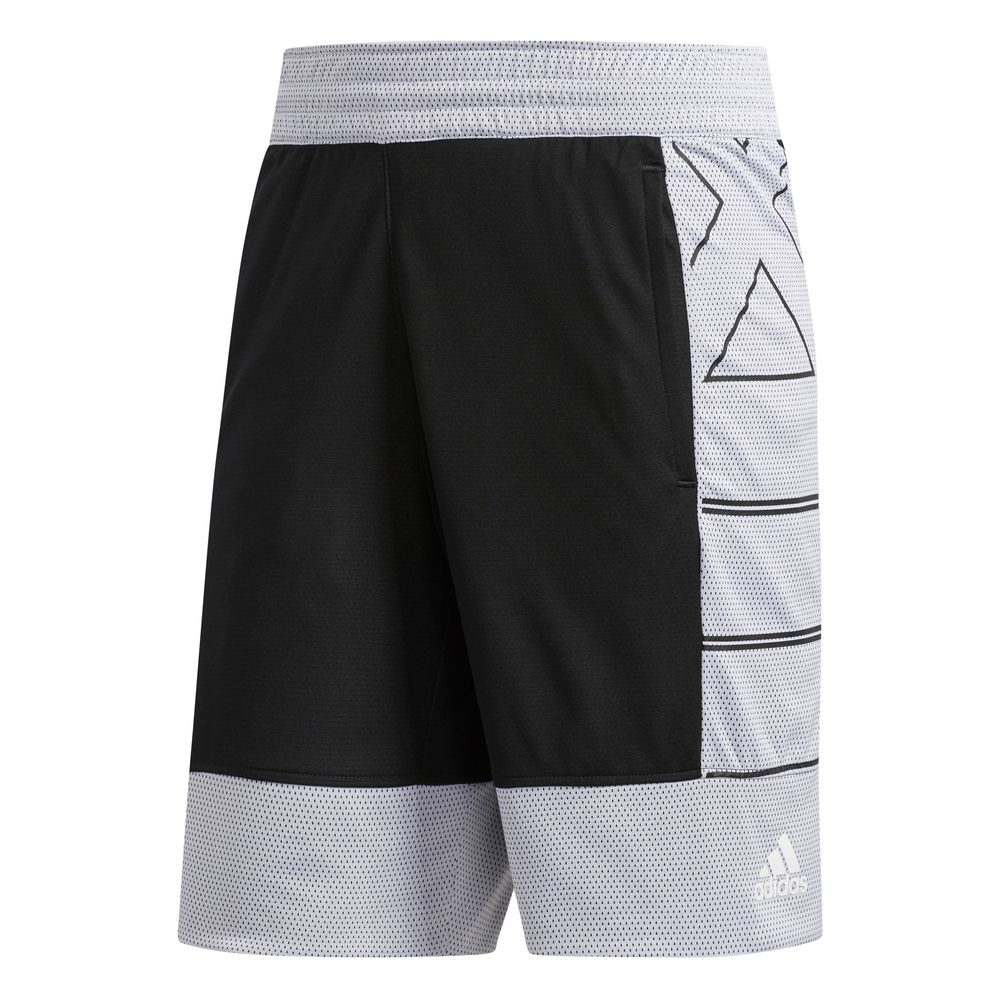 adidas HARDEN SHORT2 - BLACK/WHITE